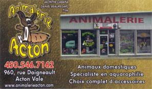 Animalerie Acton