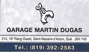 Garage Martin Dugas